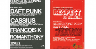 Respect is Burning Twilo New York – Classic Flyer 1998