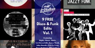 9 FREE Disco & Funk Edits Vol. 1 – Le Visiteur Online