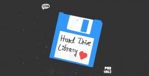 TAECHNOPOD #63 – Hard Drive Library (April 2019)