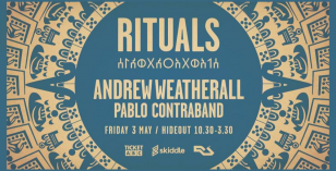 Rituals – Andrew Weatherall + Pablo Contraband – Friday 3rd May Brighton