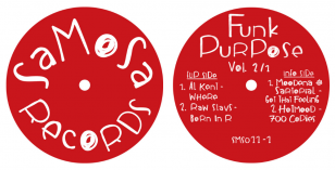 LV Premier – Hotmood – 700 Copies [Samosa Records] & Funk Purpose Vol 2/1 EP Review