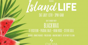 Brighter Days – Sat 27th July, Enigma (San Antonio Ibiza) Ft Blackwax, Le Visiteur & Stevie Gell