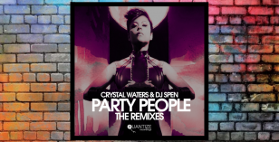 LV Premier – Crystal Waters & DJ Spen – Party People (Mike Dunn BlackBall Mix) [Quantize Recordings]
