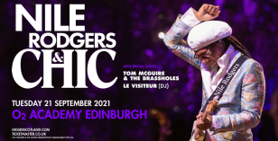 Le Visiteur To Support Chic in Edinburgh, Tuesday 21st September