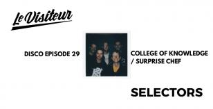 LV Disco Selectors 29 – College Of Knowledge / Surprise Chef [Mr Bongo]